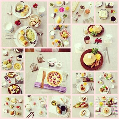 朝ごはんまとめ。
