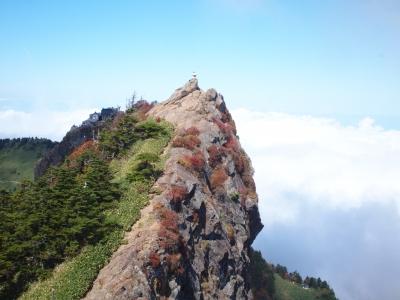 南先峰より天狗岳