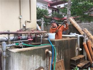 2015タンク掃除1