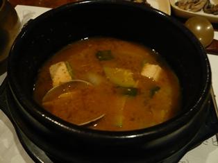 韓定食9海鮮チゲ