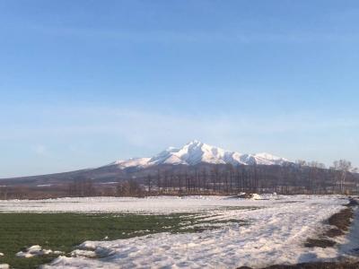 知床の斜里岳
