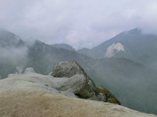 日向山から見た雨乞岳