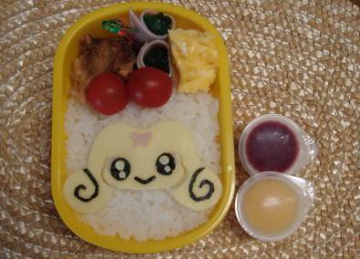 チョッピ(ふたりはプリキュアスプラッシュ☆スター)弁当