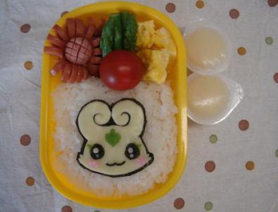 フラッピ(ふたりはプリキュアスプラッシュ☆スター)弁当