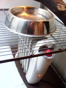 heater/water