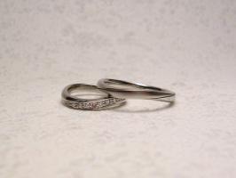 二人だけの結婚指輪