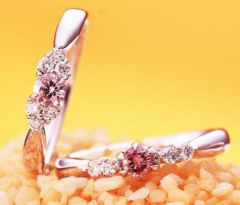 天然ピンクダイヤモンド