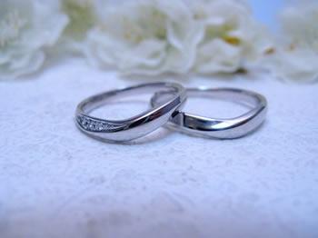 プラチナ900の結婚指輪