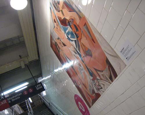 地下鉄のピカソ