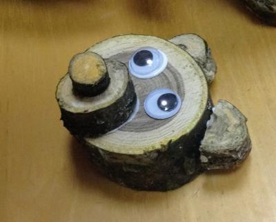 木工クラフト 作り方 くま