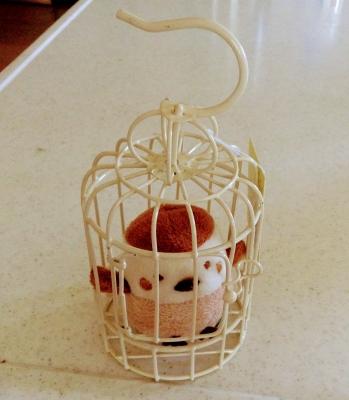 セリア 金魚鉢 鳥かご