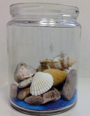 100均 ダイソー 砂絵 リラックマ テラリウム 西海岸