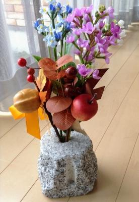 100均 ダイソー 秋 造花