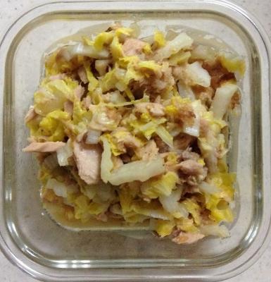 白菜 サラダ ツナ レシピ