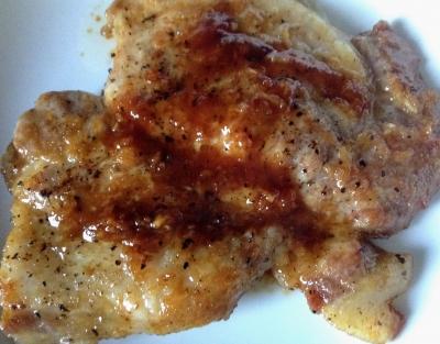 豚肉 トンテキ レシピ