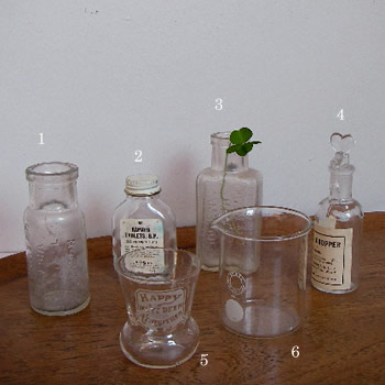 アンティークガラス ガラスウエア