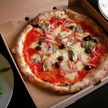 ロンドンのピザ屋
