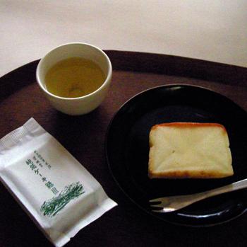 若林堂 地酒ケーキ