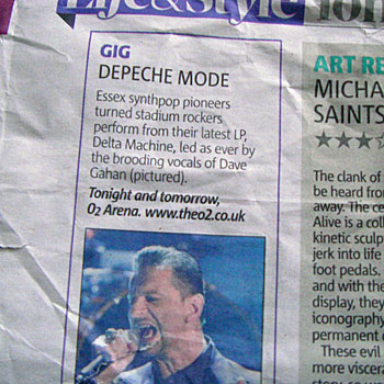 depeche mode london 2013live