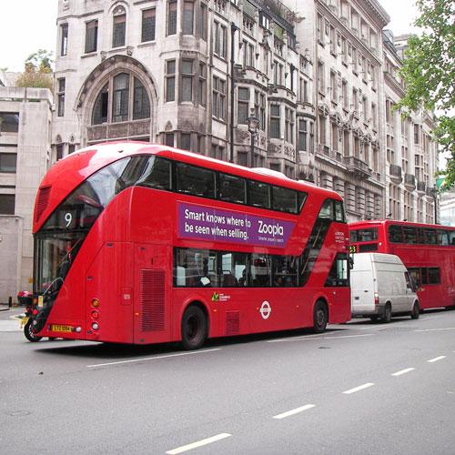 ロンドンバス ルートマスター