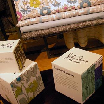 johnlewis  ロンドン百貨店 レーモンド・ローウィのバタフライ柄 タイタニック号 オックスフォードストリート ストーリーズ・オブ・ア・ショップキーパー