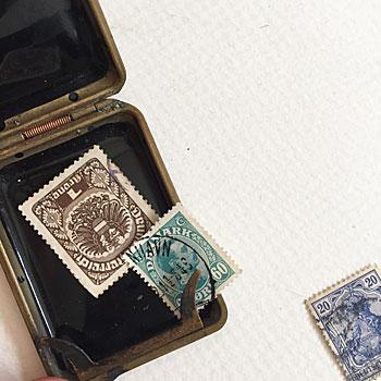 紙のマッチ専用ボックスとして使われていたTmomas Smith &Son社のもの。