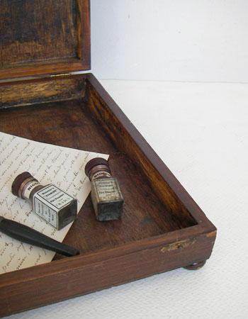 アンティークウッデンボックス