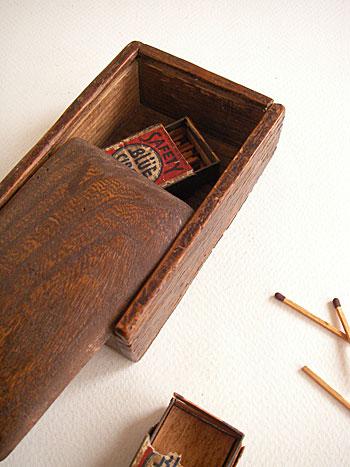 古い木箱 アンティークウッデンボックス アンティーク木箱