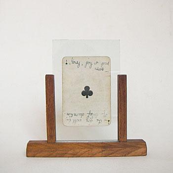 アンティークピクチャーフレーム 古い写真立て チーク材写真立て