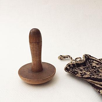 アンティークダーニングマッシュルーム antique darning mushroom