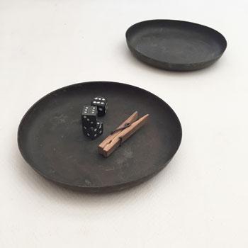古道具 銅板 古い銅のプレート