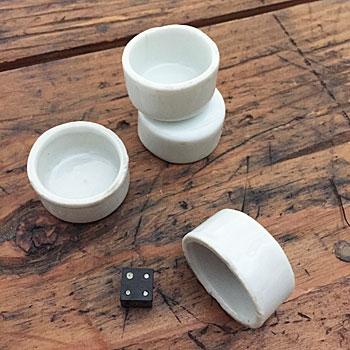 磁器いれもの 白磁 小さないれもの 古道具
