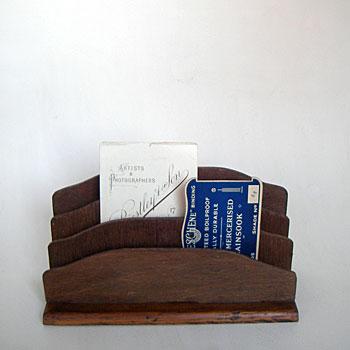 アンティークカードスタンド アンティークブックスタンド アンティーク  レタースタンド カードフォルダー