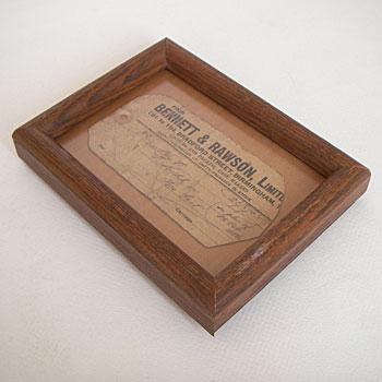 チーク材の額縁 アンティークチーク材フォトフレーム picture frame
