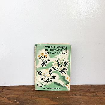 初版1936年、1940年再版されたフラワー図鑑「WILD FLOWERS OF THE WAYSIDE AND WOODLAND」