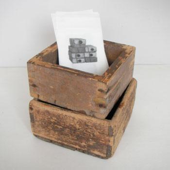 古い木箱 古道具 木箱 古い升