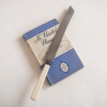 アンティークブレッドナイフ
