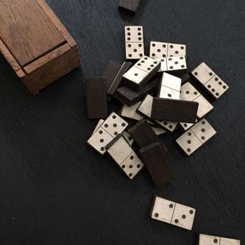 アンティークドミノ antique domino