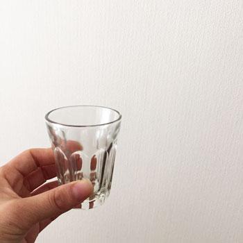 剣先グラス 剣先コップ 昭和のグラス