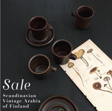 VINTAGE ARABIA ビンテージアラビア食器 北欧陶器 フィンランド イッタラ オールドティーマ