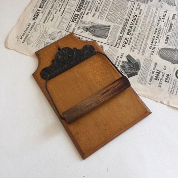 アンティークペーパーフォルダー ビクトリアンペーパーフォルダー antique paper holder