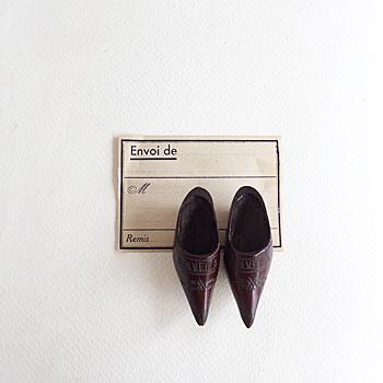 ビンテージ木靴 アントワープ木靴