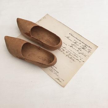 アンティーク木靴 フランス木靴
