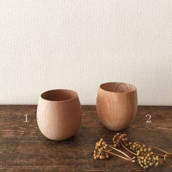木地のままの椀 日本の古道具