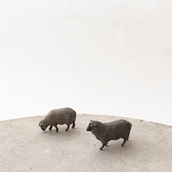 アンティーク鉄のおもちゃ lead figure 羊おもちゃ