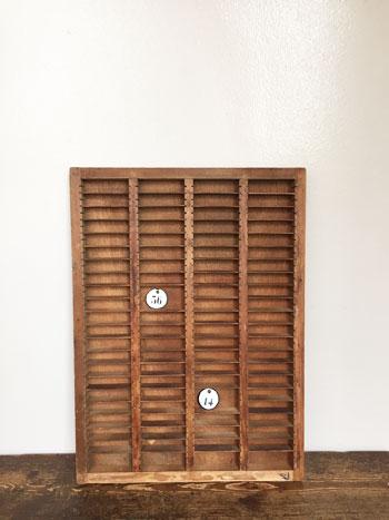 活版印刷トレイ デザイントレイ letterpress tray  レタープレストレイ