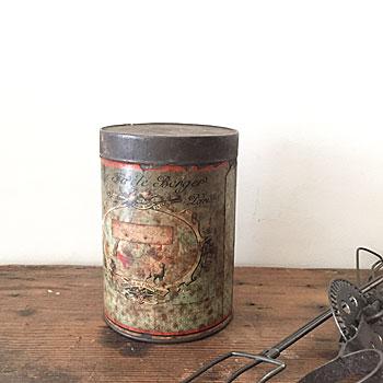 オー・ フィデル・ベルジェ・パリ アンティークビスケット缶