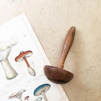ダーニングマッシュルーム アンティーク 刺繍道具 ダーニング