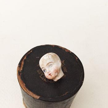 アンティークドールヘッド dollhead antique