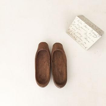 アンティーク木靴 フランス オランダ 素朴
